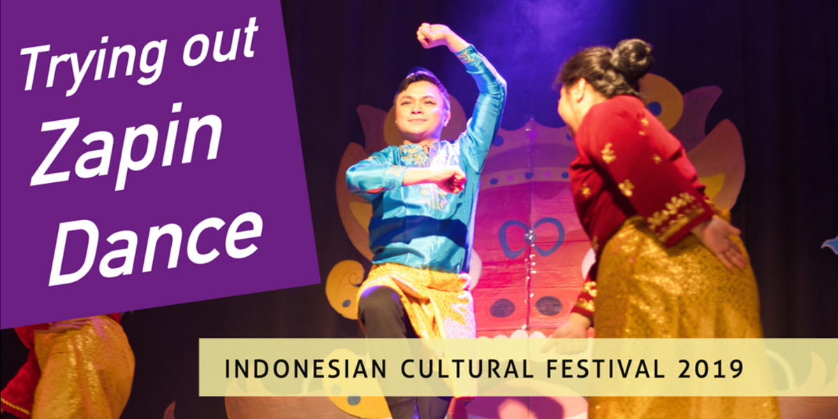 Trying out Zapin Dance at the Indonesian Cultural Festival – My Manchester News